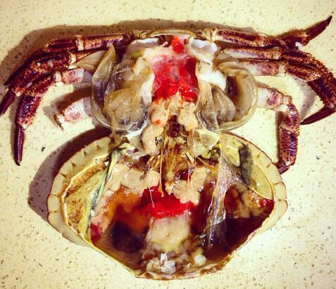 大头海鲜 进口鲜活生冻面包蟹