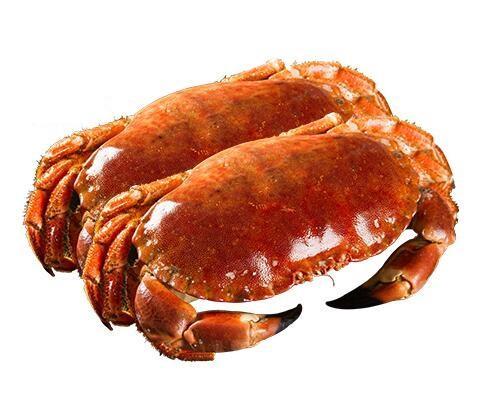 买鲜海外旗舰店 爱尔兰进口面包蟹1200-1600g(两只)