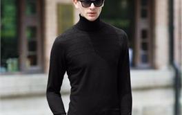 2017年八款200-500元舒适帅气的男士高领毛衣排行