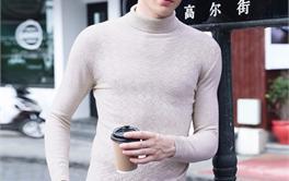 2017年十款200元内舒适帅气的男士高领毛衣排行