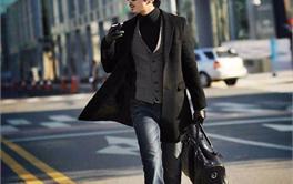 2017年九款2000-3000元时尚舒适的中长款男士毛呢大衣排行