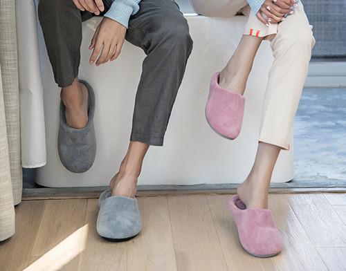 绿风 QL17男冬季拖鞋