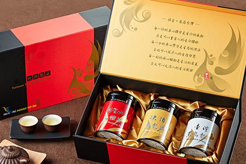 三茶赋高山乌龙茶叶礼盒