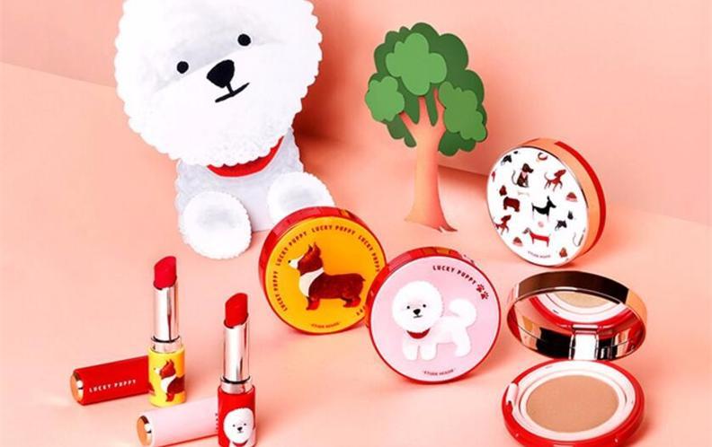 2018年新年限定彩妆护肤系列排行——狗狗款