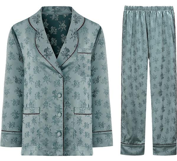 BOTHYOUNG性感内衣 复古宫廷丝绸睡衣套装