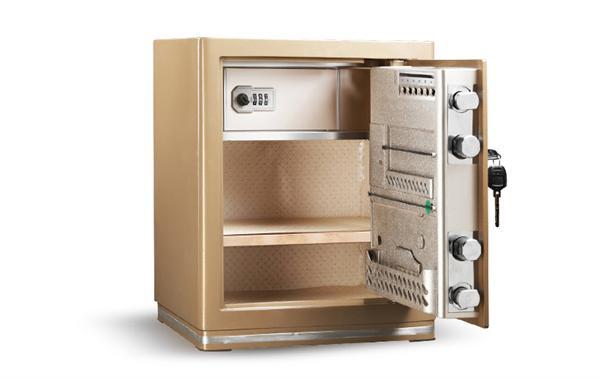 艾谱 3c认证小型办公防盗全钢保险箱