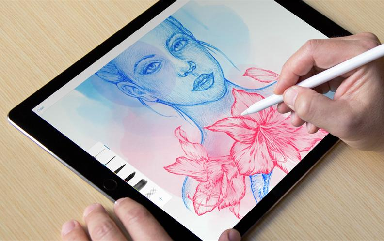 2018年十款匹配 apple pencil 最好用的免费下载的绘图绘画app排行