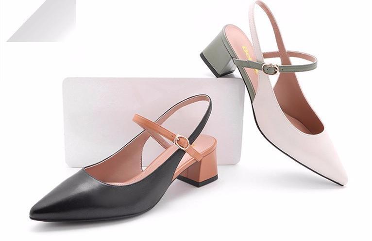 2018年250-700元舒适低跟女士包头凉鞋排行榜