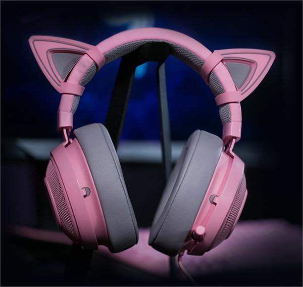 Razer/雷蛇 北海巨妖分体式猫耳耳机