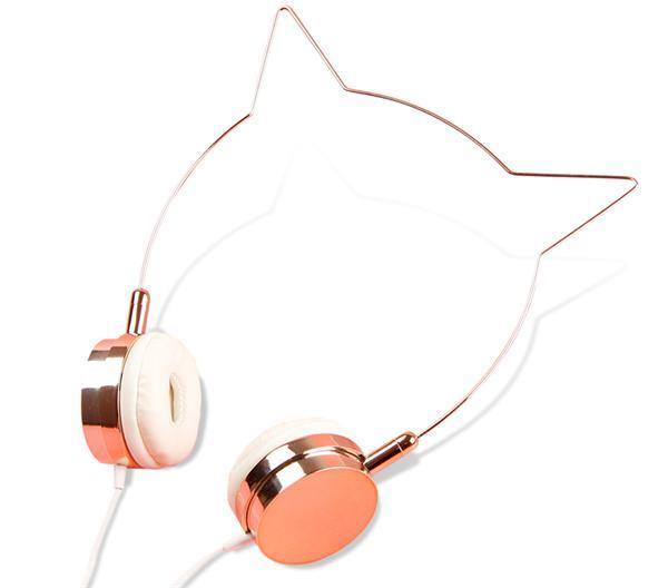 小瑜家 头戴式猫耳耳机