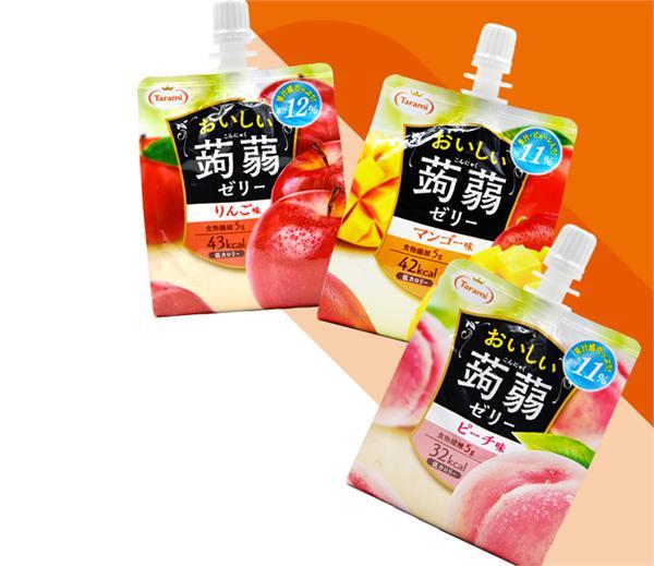 tarami旗舰店 蒟蒻魔芋果汁果冻低卡