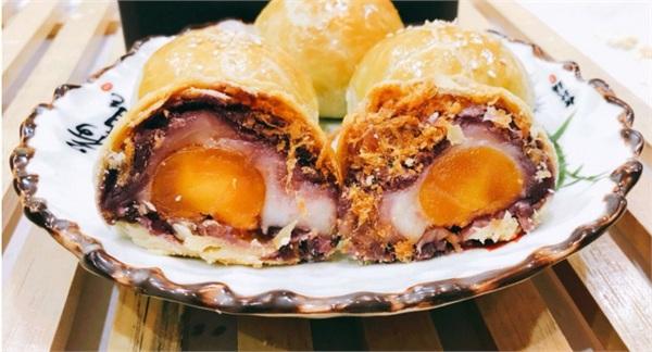 喜洋洋糕点坊 榴莲麻薯蛋黄酥