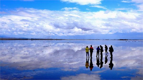 茶卡盐湖1