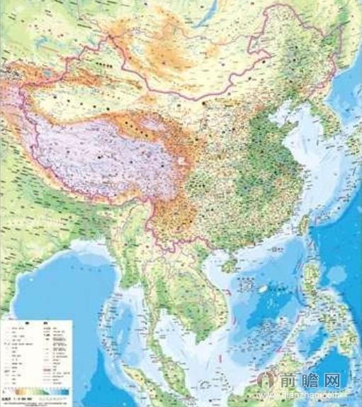 中国地图全图各省高清
