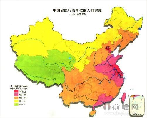 中国人口老龄化_中国人口稠密地区