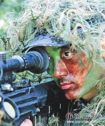 战地访谈解放军狙击手 杀手不能不见血