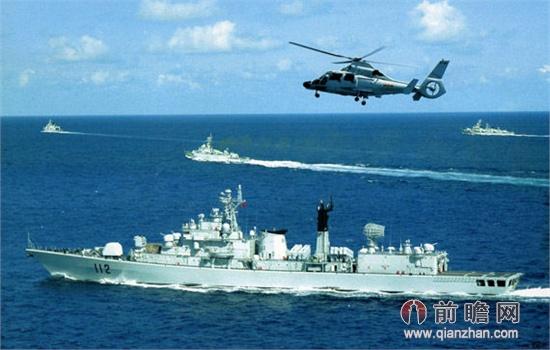 解放军三大舰队南海练武 军舰密布震慑菲律宾