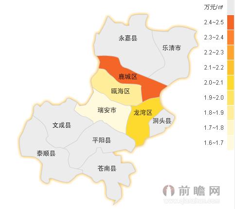 温州房价地图