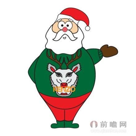 日本手绘插画 麋鹿