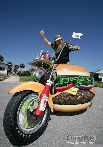 多种另类汉堡 品味生活无处不在的创造力