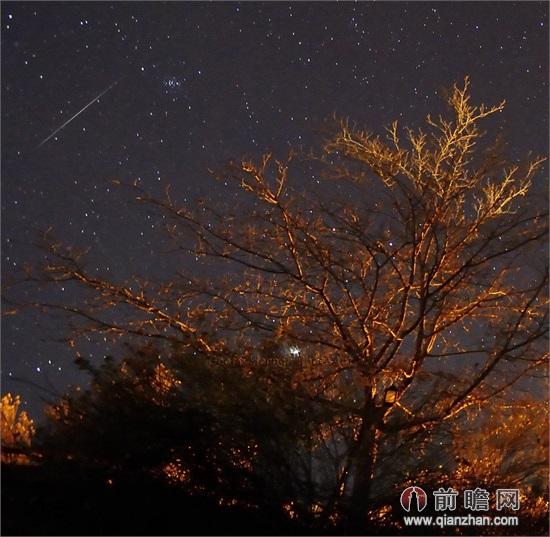 流星雨/2014年新年的首场流星雨高调袭来,象限仪座流星雨为我们献上了...