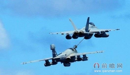 被撞烂  伙伴式空中加油技术是指同类型飞机间的空中