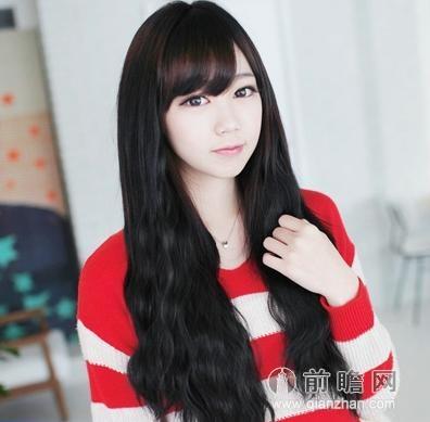 2014韩国女生发型 长发最受欢迎