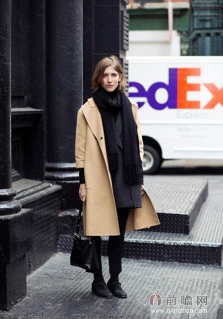 欧美街拍风格利落简洁,众多时尚达人也喜欢从欧美街拍中获得搭配灵感.图片