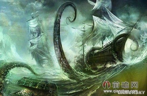 日本巨型乌贼身长8米似北海巨妖 可供万人食用