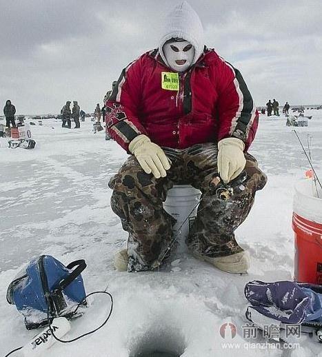冰钓锚鱼线组图解
