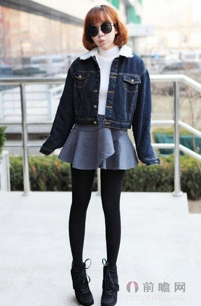 小个子女生冬季穿衣