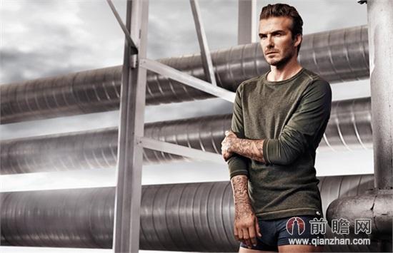 贝克汉姆全新h&m内衣系列2014广告大片