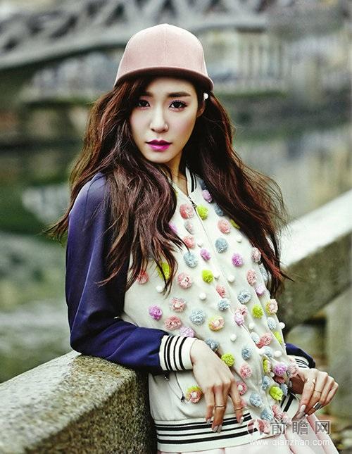 少女时代Yuri权侑莉Tiffany 米兰时尚写真似娃娃