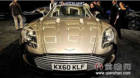 """阿斯顿马丁被誉为""""跑车中的劳斯莱斯"""",最贵的车型卖到数千万元高清图片"""