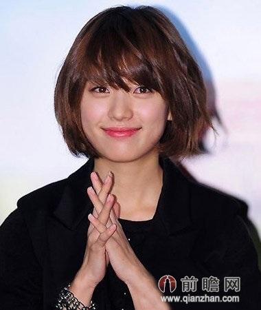 日系日本韩国短发发型