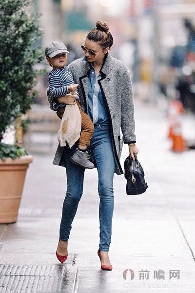 牛仔裤潮流搭配最时髦