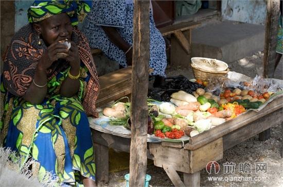 非洲居民生活照