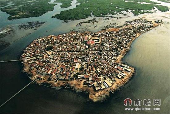 非洲旅游贝壳岛