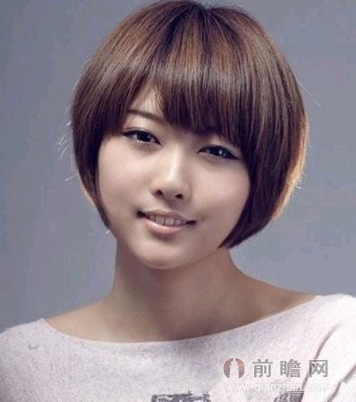 日系短发波波头发型 春夏轻松时尚不单调