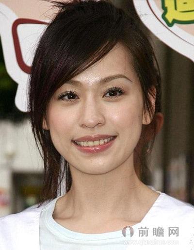 明星示范8款又美又实用短发造型  刘海既是整个发型的重点又是修饰