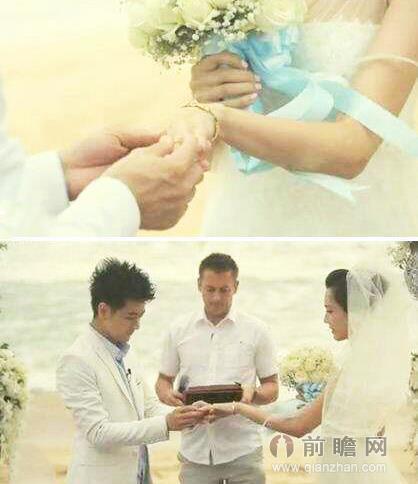 林志颖陈若仪结婚秀甜吻