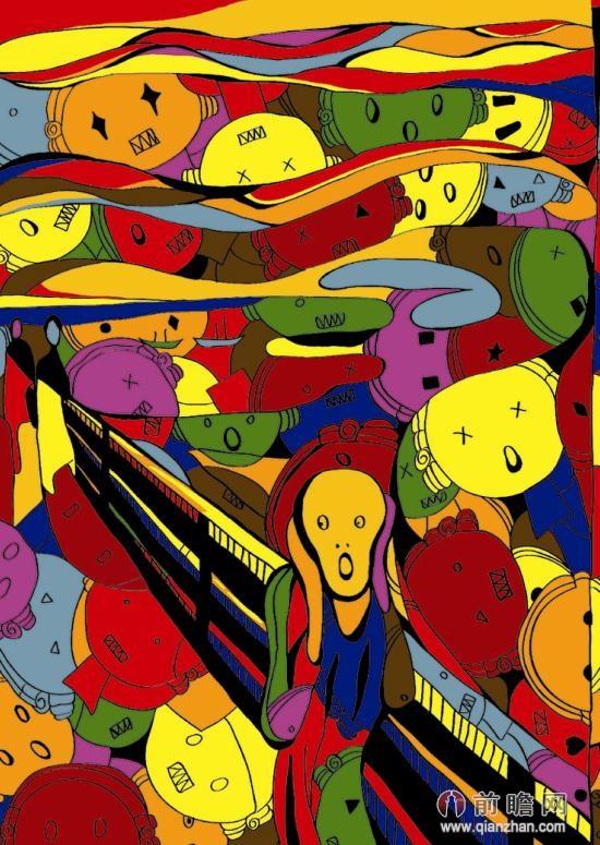 毕加索,蒙克,达芬奇等绘画大师的名画作品