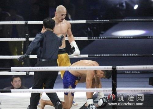 2014武林风武僧一龙最新比赛视频 狂殴日本拳