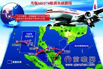 马航飞机失踪最新消息:mh370失联因战术躲避雷达