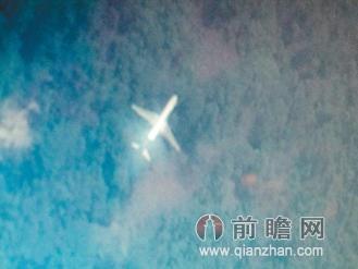 台湾大学生看卫星照 发现疑似马航失联飞机