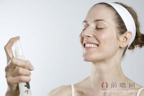 补水美容保湿美女模特广告大片写真
