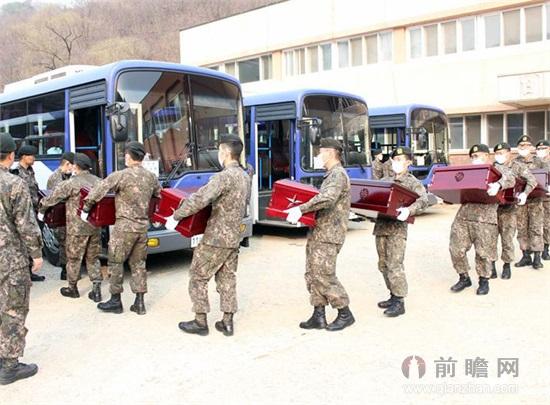韩国归还志愿军遗骸 抗美援朝战士漂泊60余年