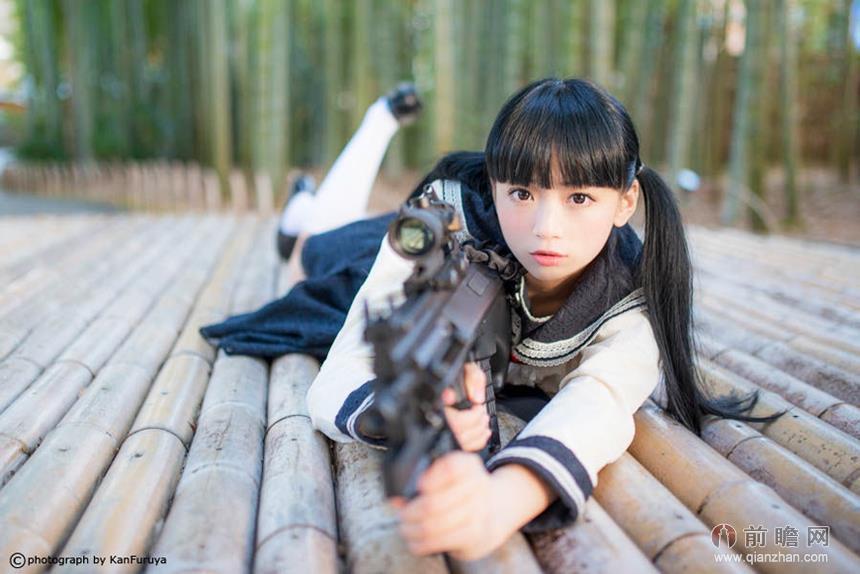 日本萌妹子翘臀 壁纸