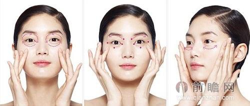 脸部皮肤基础结构图