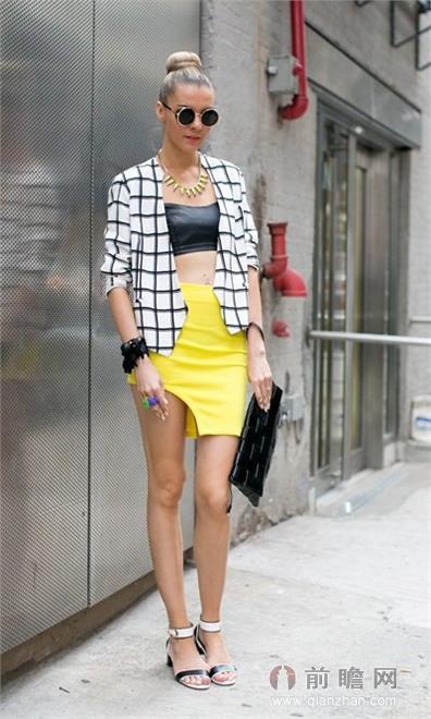 欧美时尚街拍纽约时装周